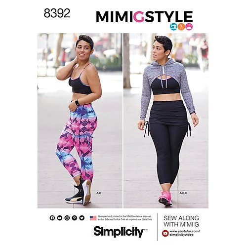 Simplicity 8392 sportliches Outfit