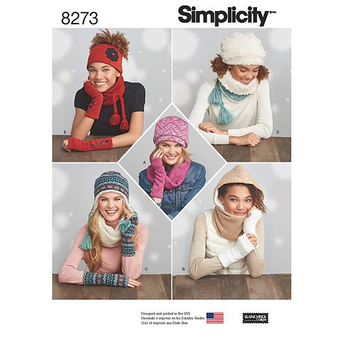 Simplicity 8273 Winter - Accessories
