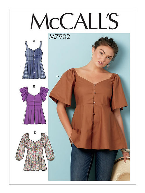 McCall's 7902 bequemes Top