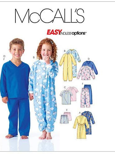 McCall`s M6224 Kinder Schlaf - Overall