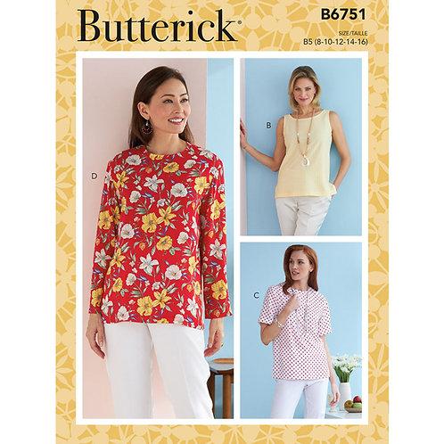 Butterick B6751 Bluse