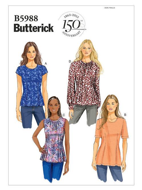 Butterick B5988 Shirts