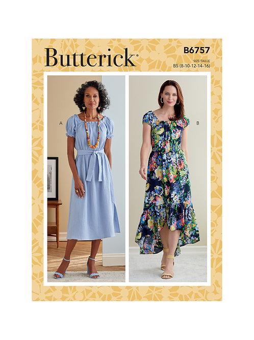 Butterick B6757 Kleid