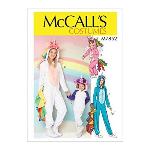 McCall`s M7852 Einhorn