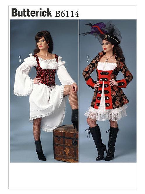 Butterick B6114 Fantasy-Kostüm