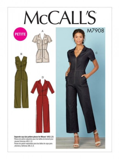 McCall`s M7908 Overall