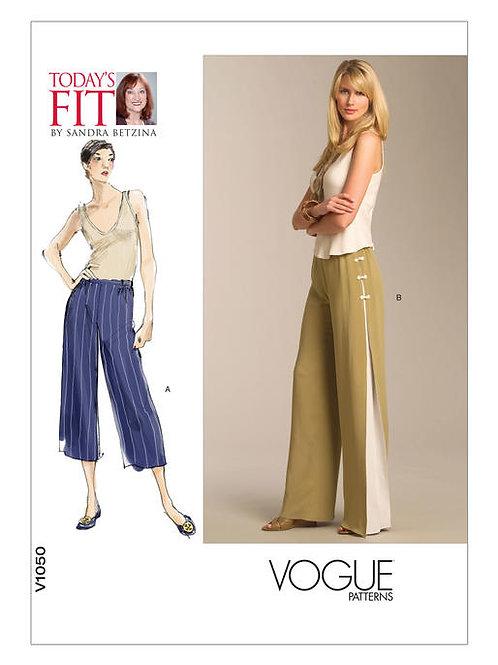 Vogue V1050 modische Hose