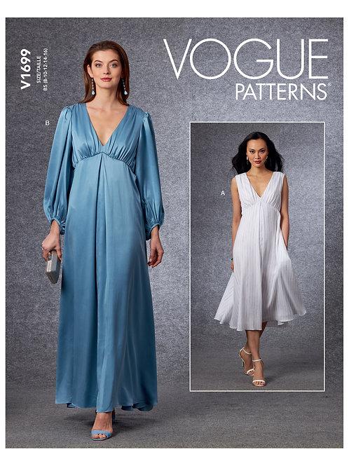 Vogue V1699 festliches  Kleid