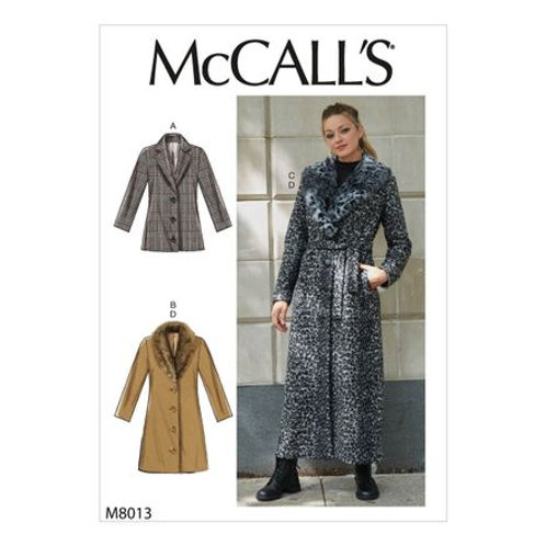 McCall`s M8013 Jacke/Mantel