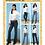 Thumbnail: Butterick B6800 Jeanshose