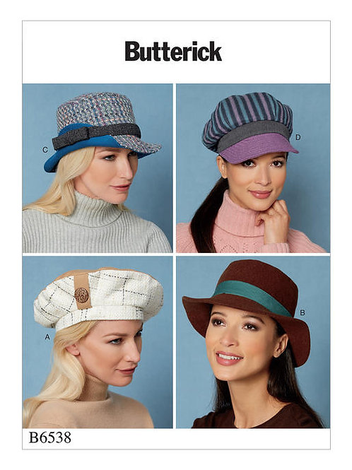 Butterick B6671 Damenhüte
