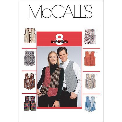 McCall`s M6228 Weste für Herren und Damen