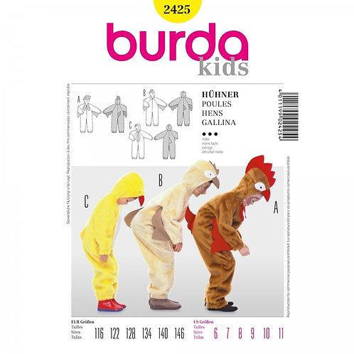 Burda 2425 Hühner - Kostüm
