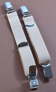 Straps - Strapsbänder mit beidseitig Hosenträger-Clip