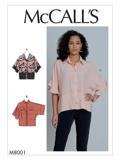 McCall's 8001 weite Bluse