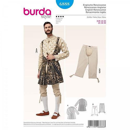 Burda 6888 englische Renaissance