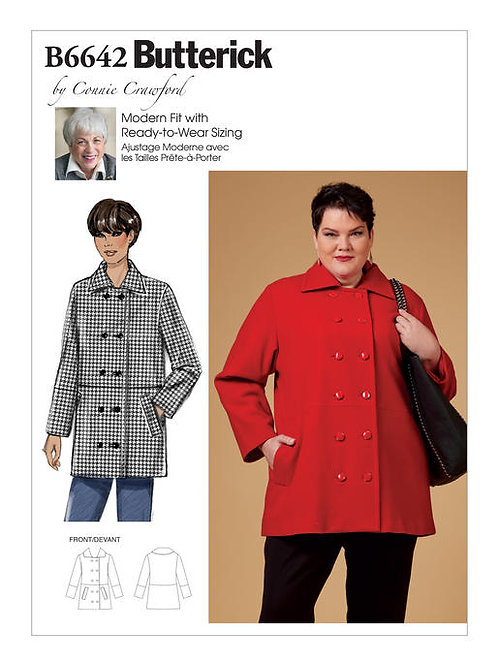 Butterick B6642 Jacke by Connie Crawford