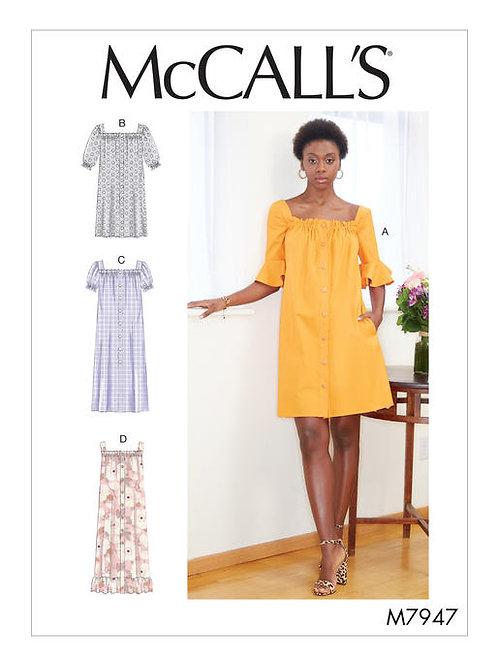 McCall's 7947 modisches Hängerchen