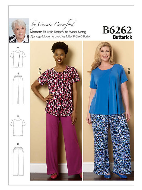 Butterick B6262 Hausanzug by Connie Crawford