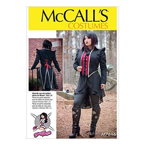 McCall`s M7616 Historische Kleidung