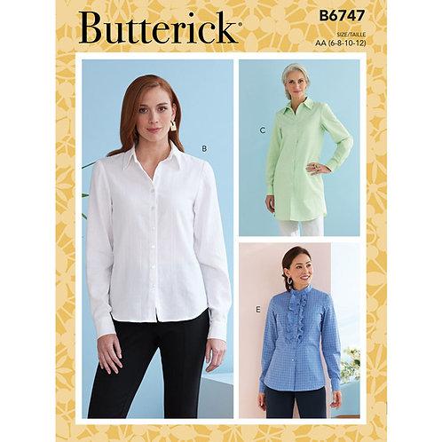 Butterick B6747 Bluse