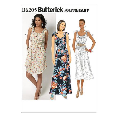 Butterick B6205 Sommerkleid