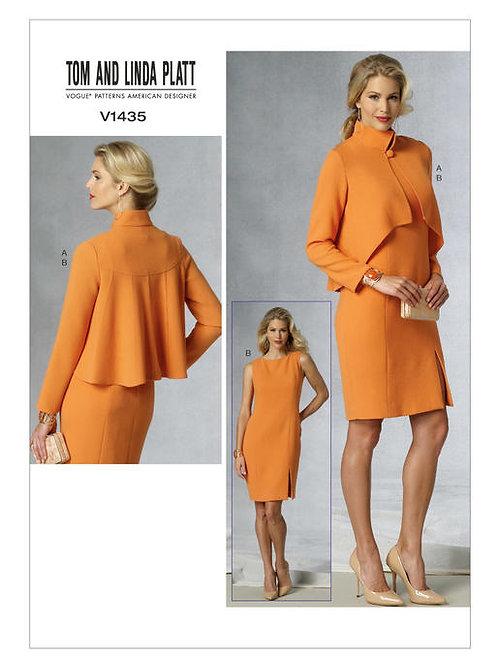 Vogue V1435 Jacke & Kleid by Tom and Linda Platt