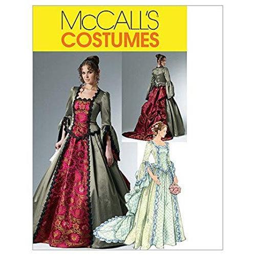 McCall`s M6097 Historisches Kleid