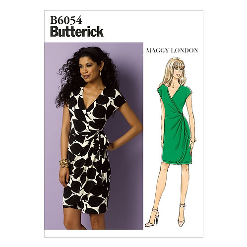 Butterick B6054  Wickelkleid by Maggy London