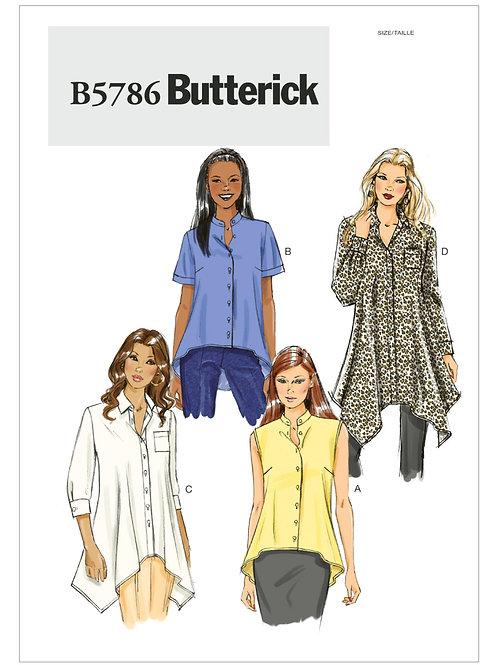 Butterick B5786 Hemdbluse