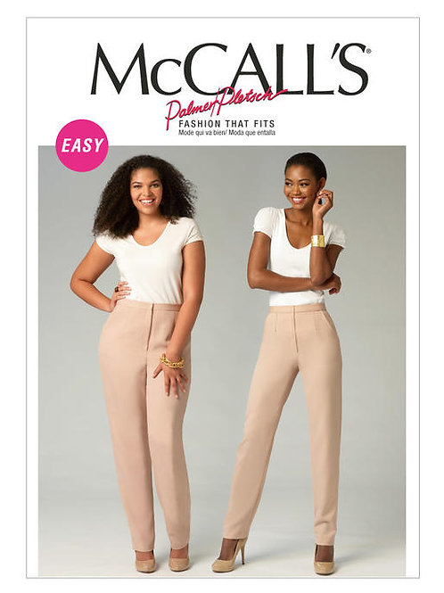 McCall's 6901 taillierte Hose