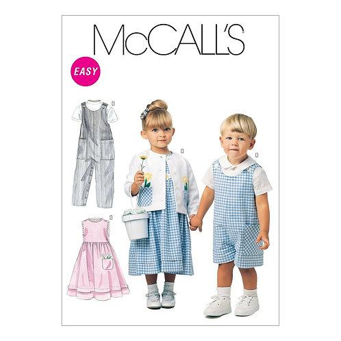 McCall`s M6304 Kleinkind-Kombi