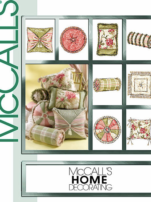 McCall`s M4410 Kissen
