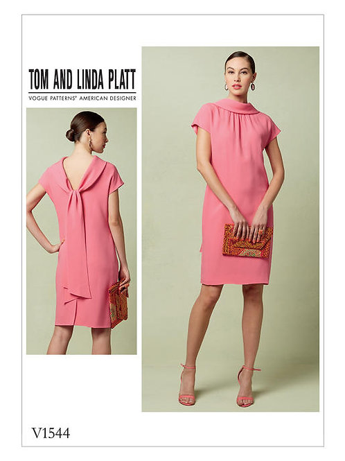Vogue V1544 Designerkleid by Tom and Linda Platt