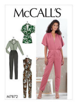 McCall`s M7872 Overall