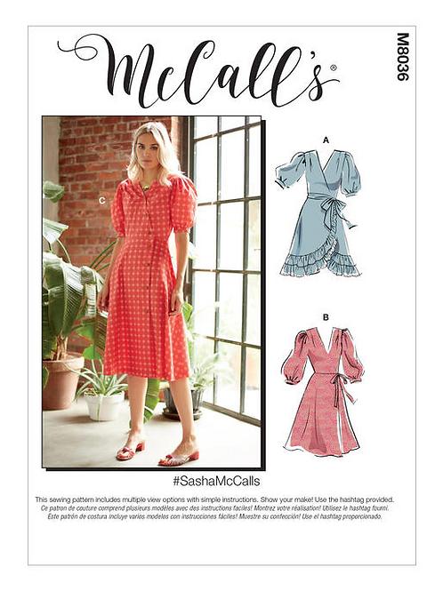 McCall`s M8036 Kleid
