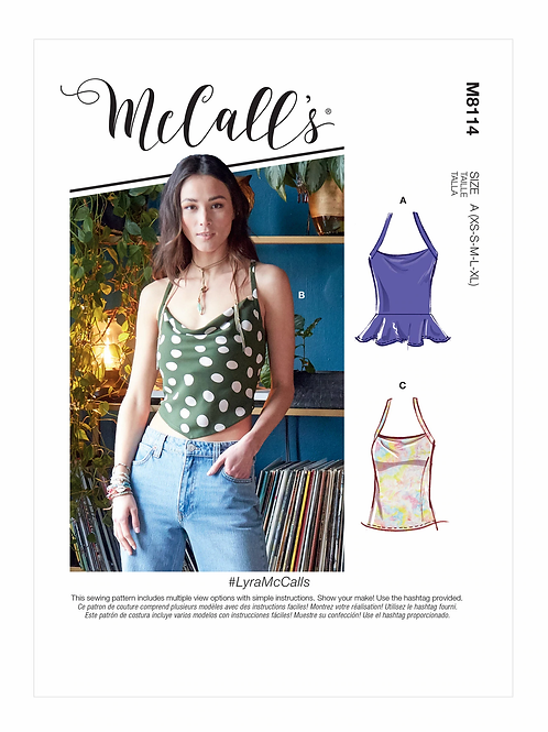 McCall's 8114 Top