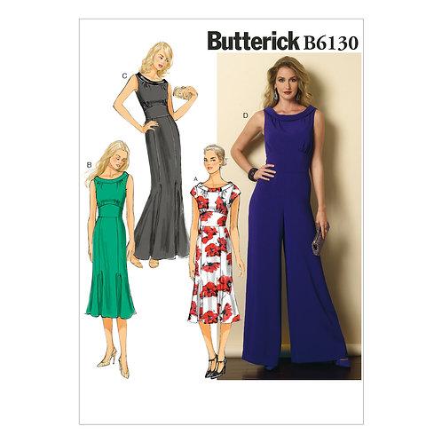 Butterick B6130 Kleid und Overall