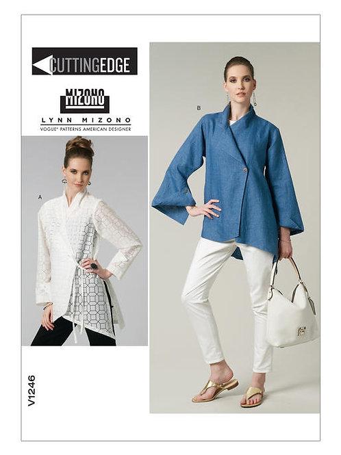 Vogue V1246 lockeres Hemd by Lynn Mizono