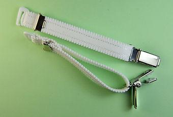 Straps - Strapsbänder 13mm mit Hosenträger-Clip