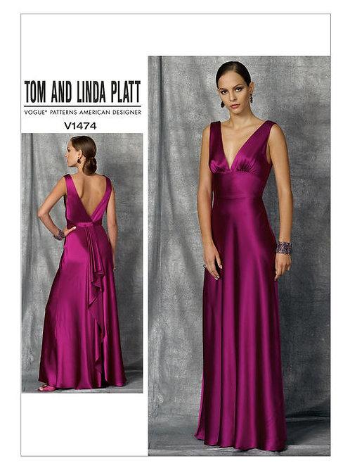 Vogue V1474 Abendkleid by Tom and Linda Platt