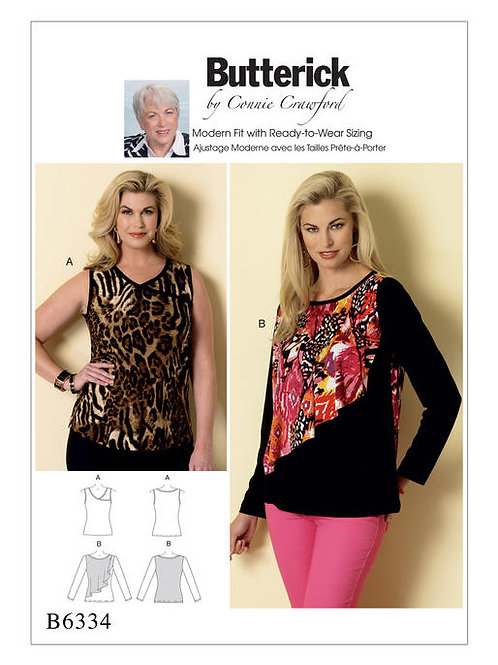 Butterick B6334 Shirt by Connie Crawford