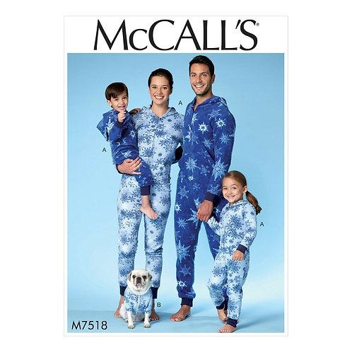 McCall`s M7518 Freizeit - Overall