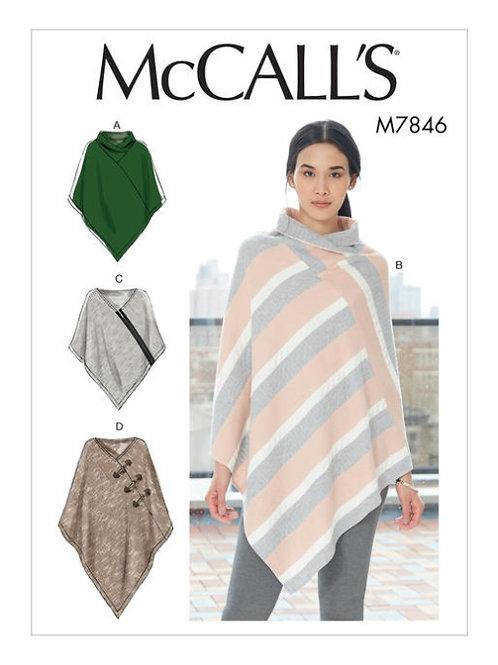 McCall`s M7846 Cape