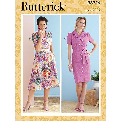 Butterick B6726 Hemdblusenkleid