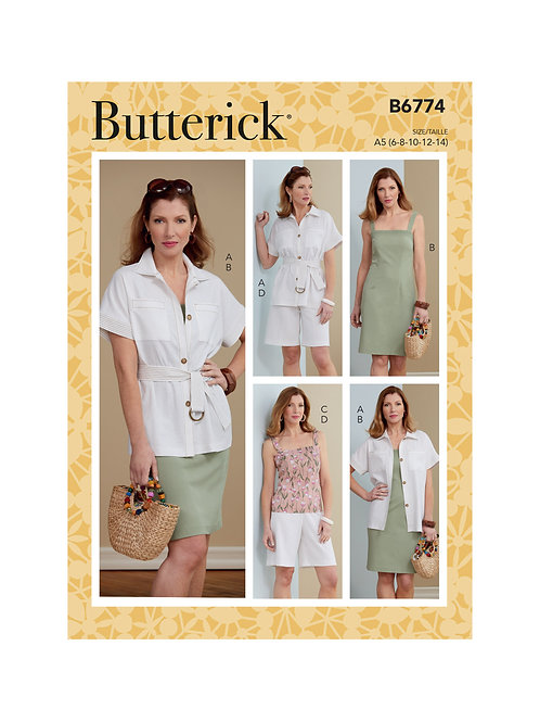 Butterick B6774 Kombination