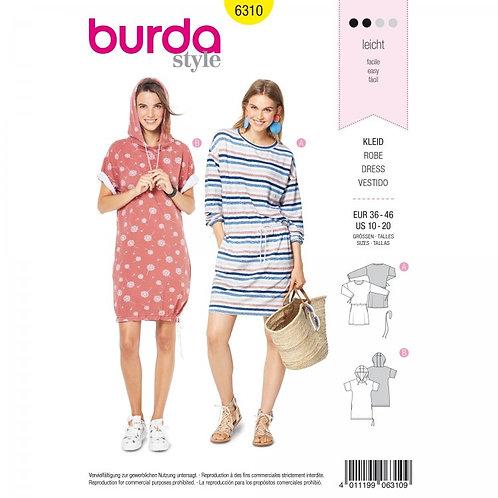 Burda 6310 Jersey - Kleid