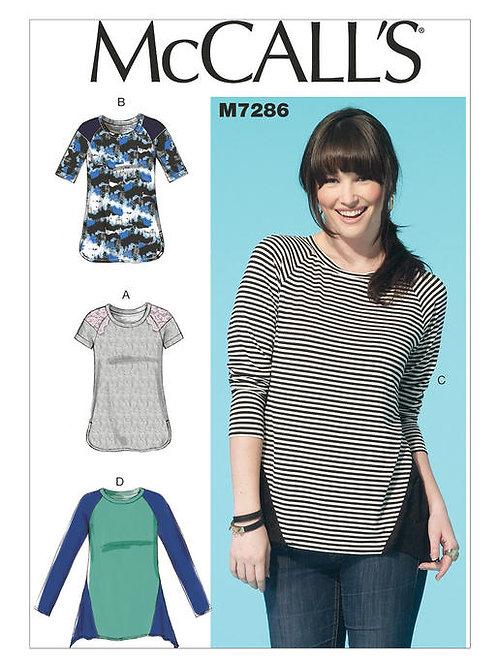 McCalls 7286 bequemes Shirt