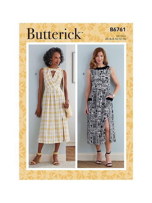 Butterick B6761 Kleid