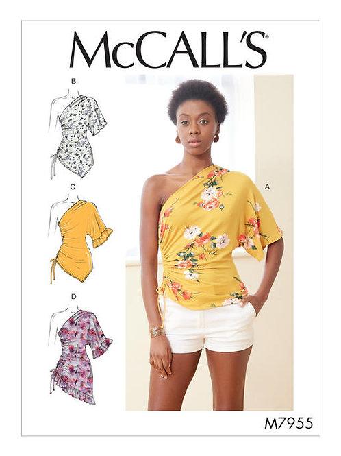 McCall's 7955 one shoulder Shirt